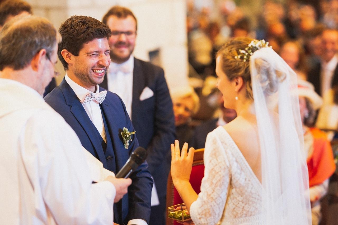 mariage à l'église rosporden Finistère