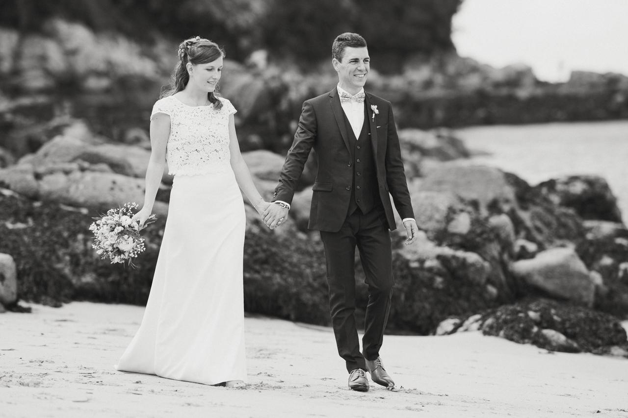 coiffure de la mariée photographe de mariage à Douarnenez photo de famille mariage Douarnenez