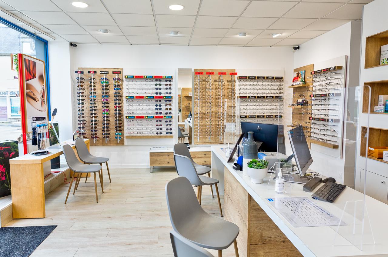 boutique opticien lunette pont Labbé