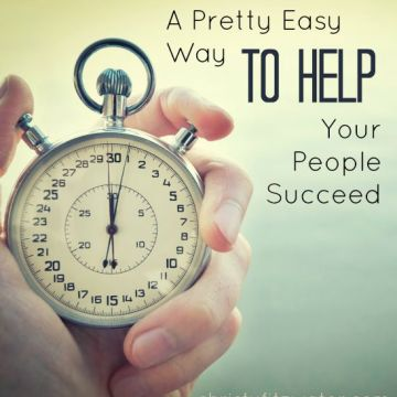 A Pretty Easy Way to Help Your People Succeed -christyfitzwater.com