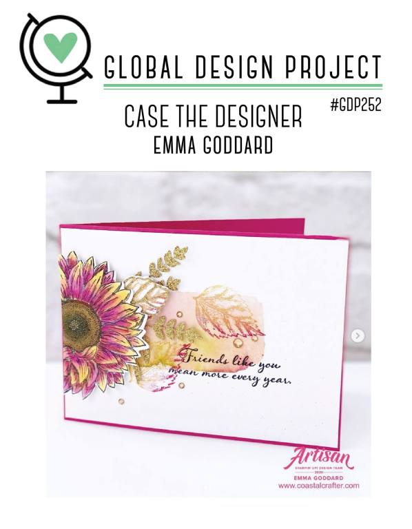 link to the Global Design Project CASE Challenge #252