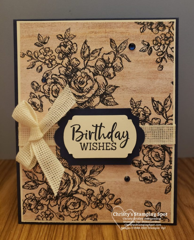 Stampin' Up! Fancy Phrases stamp set, In Good Taste DSP, Everyday Label punch, and Label Me Fancy punch. #FancyPhrases
