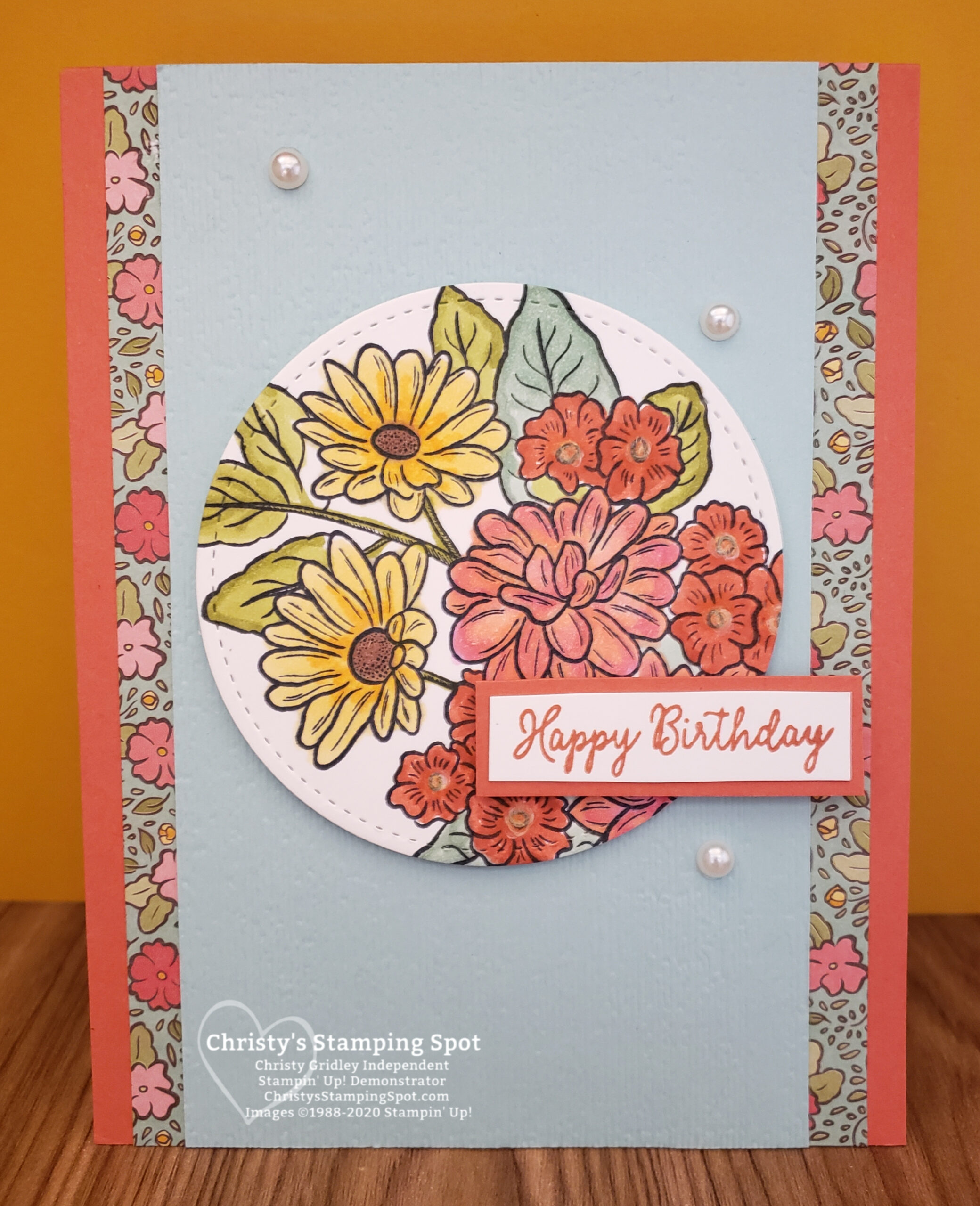 Stampin' Up! Ornate Style stamp set, Special Someone stamp set, Ornate Garden Specialty DSP, Stitched Shapes dies, and Subtle 3D embossing folder. #OrnateGardenSuite