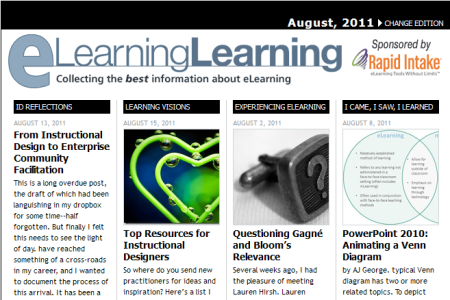 eLearning Learning August 2011