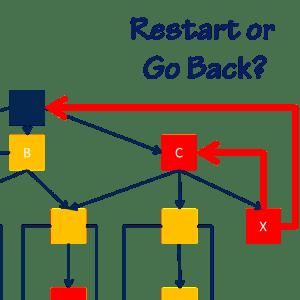 Restart or Go Back?