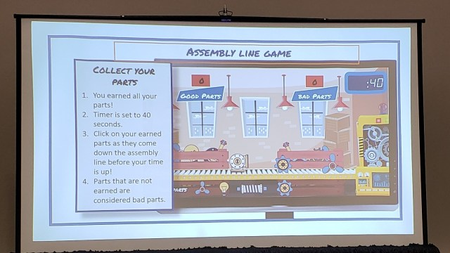 Assembly Line Game