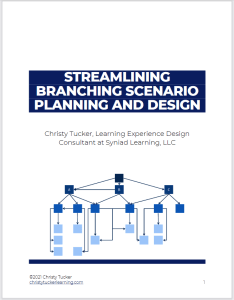 Cover of the guide to Streamlining Branching Scenario Planning and Design