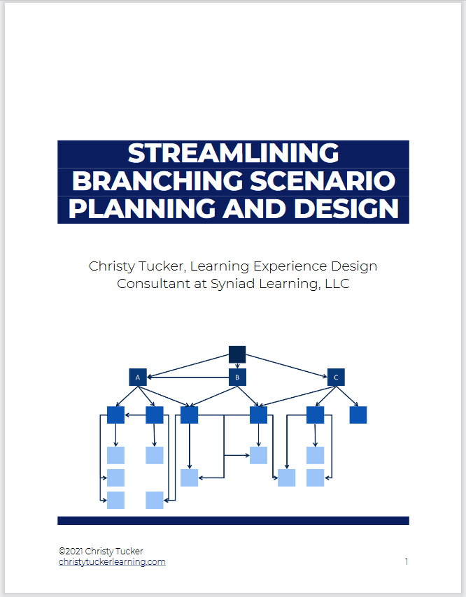 Cover of Streamlining Branching Scenario Planning and Design