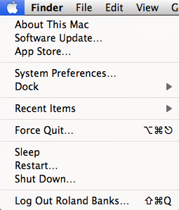 how to change name of home folder on mac