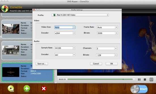 DVD Ripper Screenshot