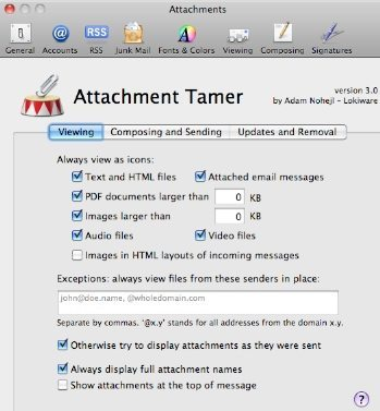 Attachment Tamer Prefernces