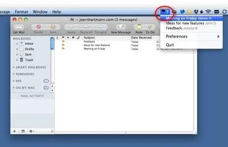 FlaggedMails Screenshot