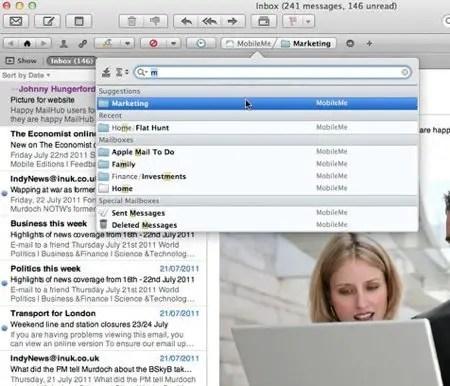 MailHub Screenshot