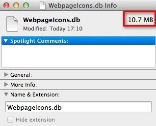 WebpageIcons Get Info
