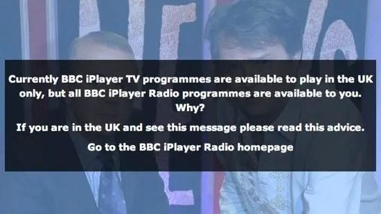 BBC iPlayer Screenshot
