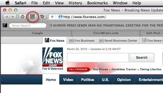 Fox News extension screenshot