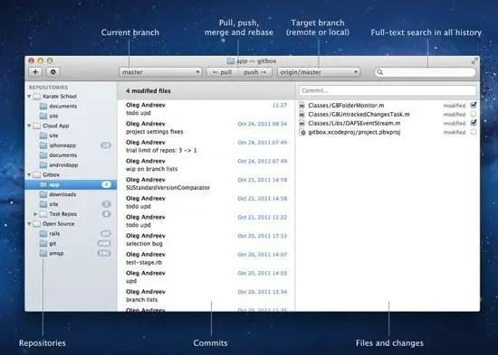 Gitbox Screenshot