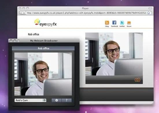 My Webcam Broadcaster Screenshot