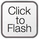 ClickToFlash icon