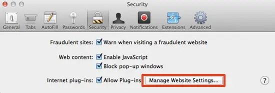 Manage Plug-ins