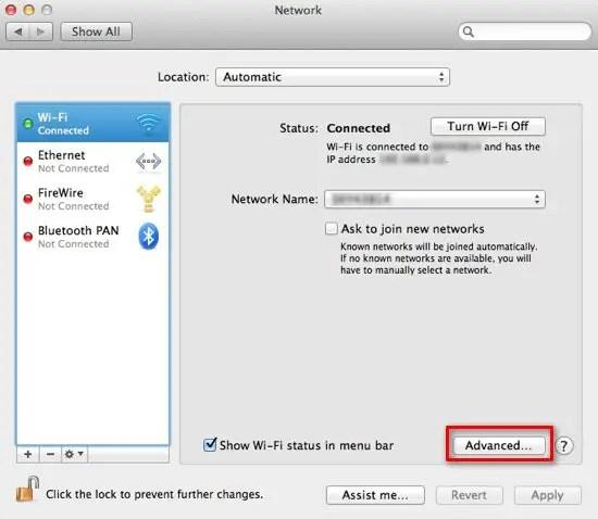 wifi settings - Isken kaptanband co