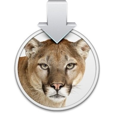 OS X Mountain Lion Upgrade Disk Icon