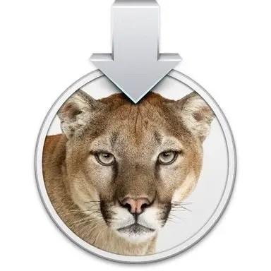 OS X Mountain Lion Upgrade Disk Icon