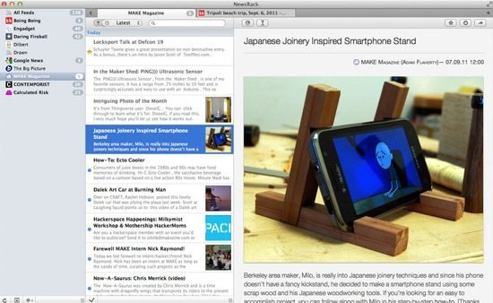 NewsRack Screenshot