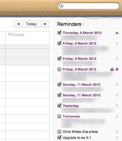 New iCal To Do