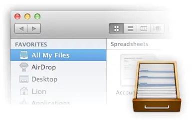All My Files Finder Sidebar Favorite