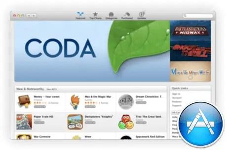 Mac OS X Mac App Store