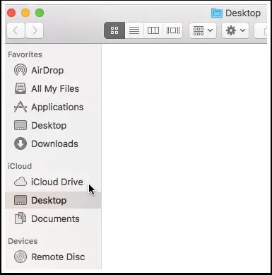 desktop documents icloud