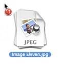 Icon Drag UI Lion