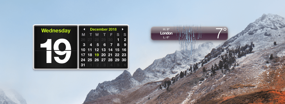 How to place any Dashboard widget on your Mac's Desktop