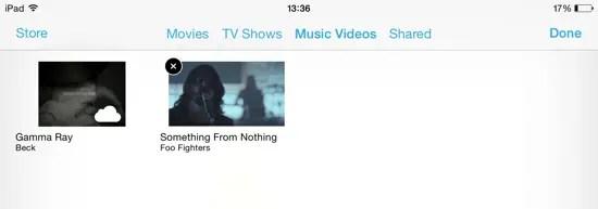 iOS 8 Upgrade - Delete Video
