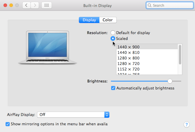 How To Change The Screen Resolution On Your Mac Chriswrites Com