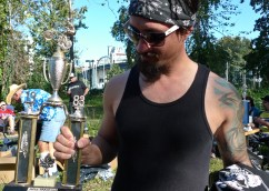 Steve Calette took second place.