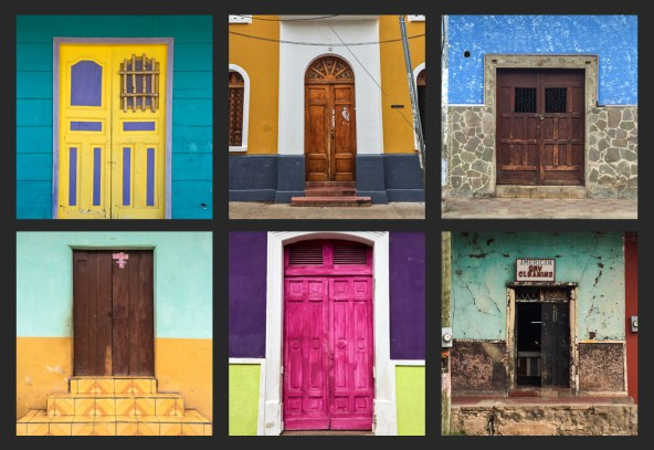 The colours of the buildings all over Nicaragua are just beautiful; I shot so many photos of the buildings and doorways that I've created a post just that.