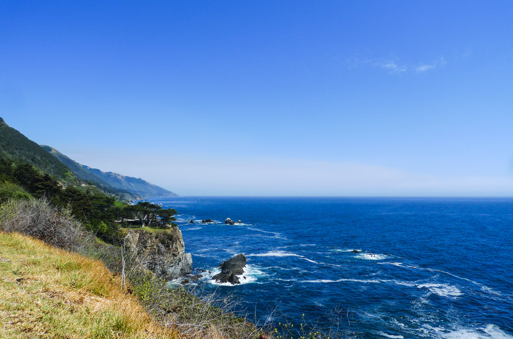 This is a pretty common vista along the stretch of Big Sur; and by 'pretty common' I mean epic.