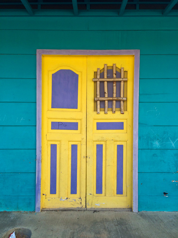 So many beautiful colour combinations... This is one of the first sets of doors that I photographed.