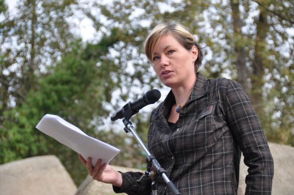Vision Vancouver park board commissioner Sarah Blyth