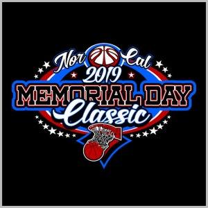 Memorial Day Basketball Design