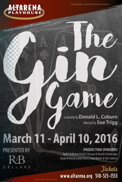 The Gin Game Poster - Altarena Playhouse