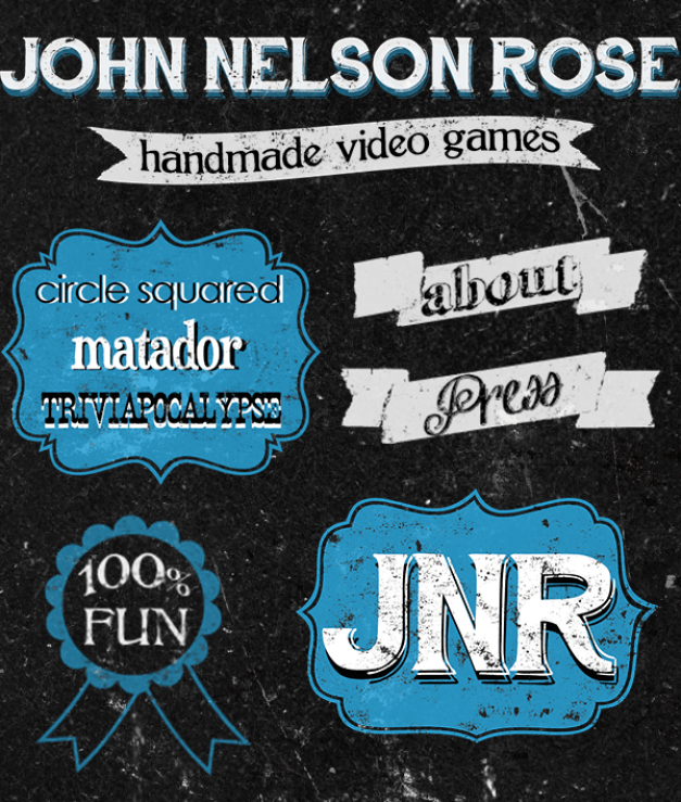 ChromaKit Graphic Design John Nelson Rose Web Page