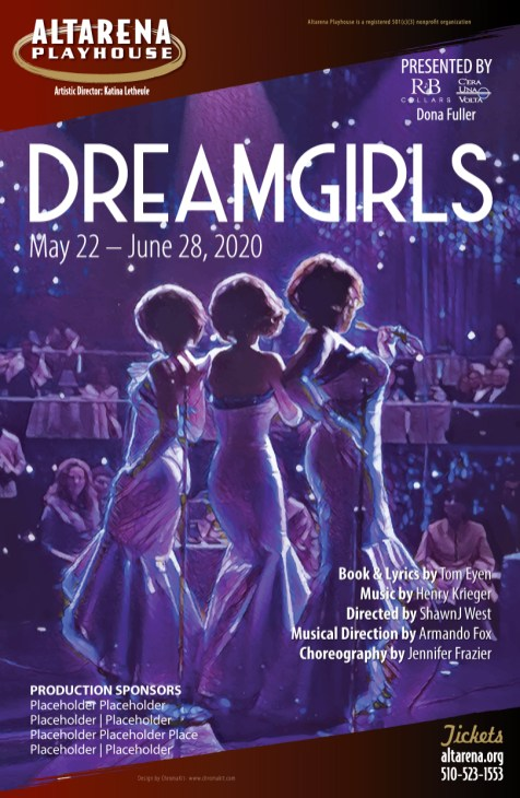 Dreamgirls Poster - Altarena Playhouse