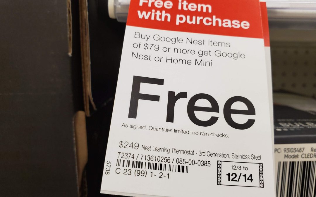 Free Nest Hub or Nest Mini at Target