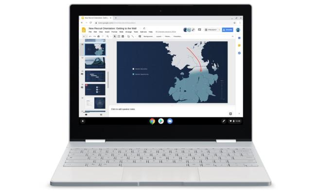 Google Promoting Chromebooks With White Walkers From Game
