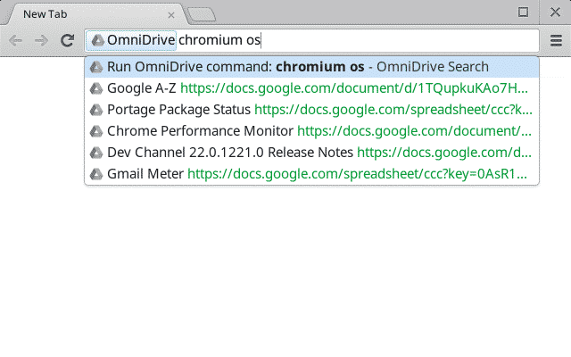 chrome extensions  Search Your Google Drive From Chromes Addressbar