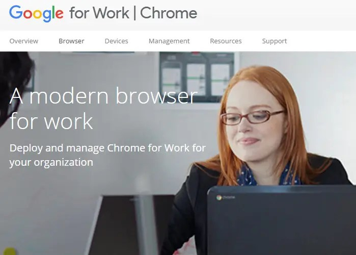 chrome-for-work