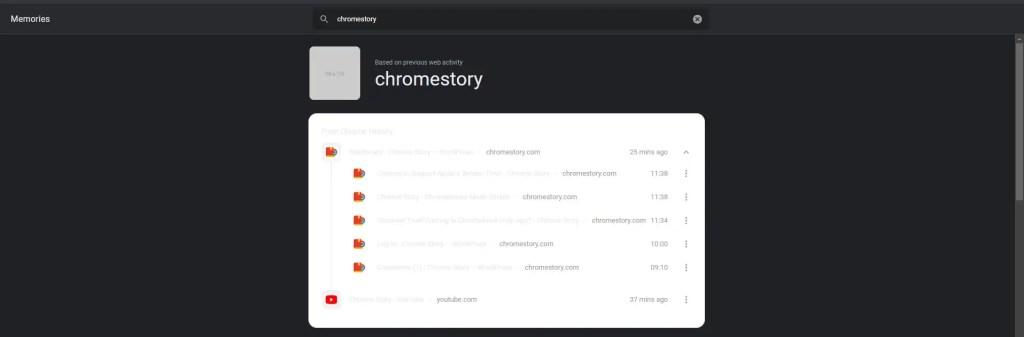 Chrome Memories - Collapse